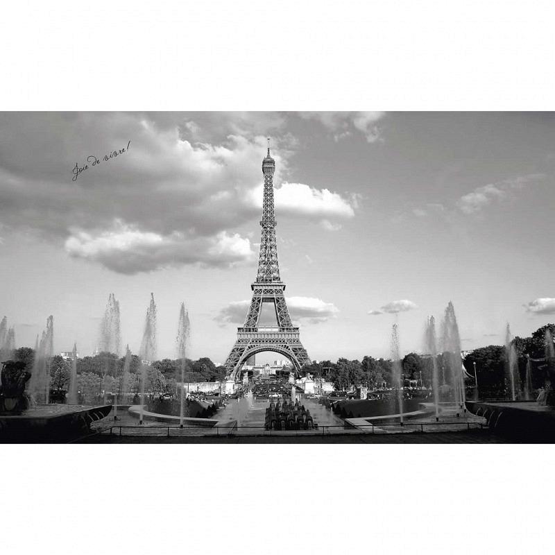 RoomMates Fototapete Pariser Eiffelturm Wandbild