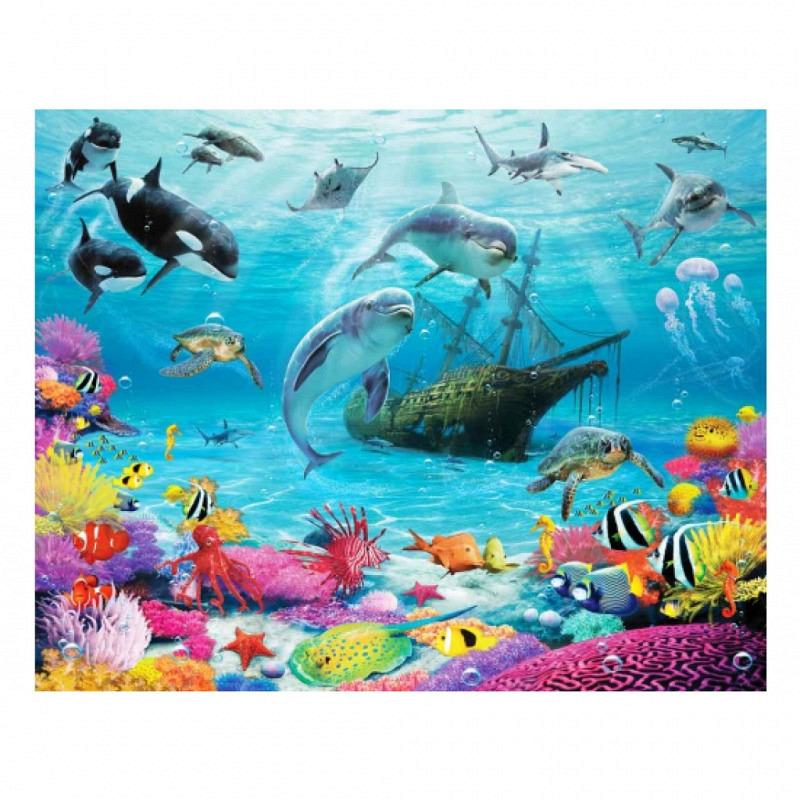 Fototapete Delfine Fische Unterwasserwelt
