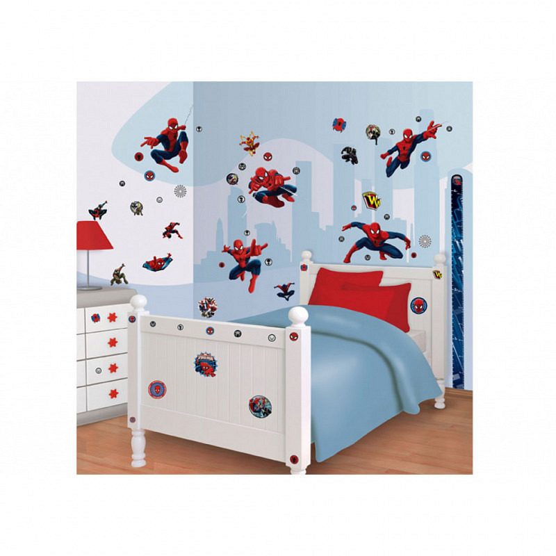 Wandsticker Kinderzimmer Ultimative Spiderman