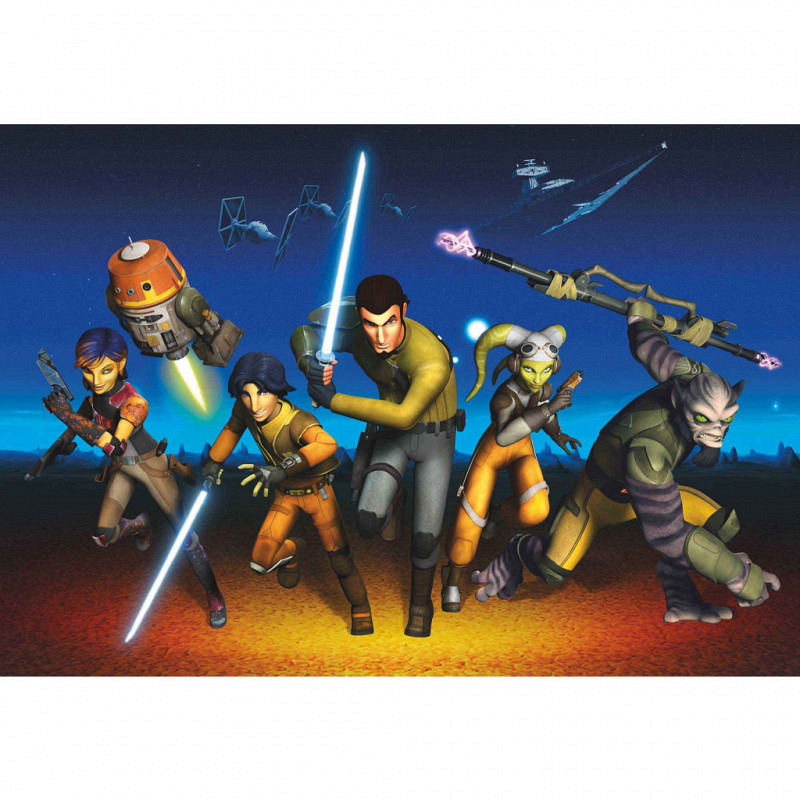 Fototapete Star Wars Rebels Run