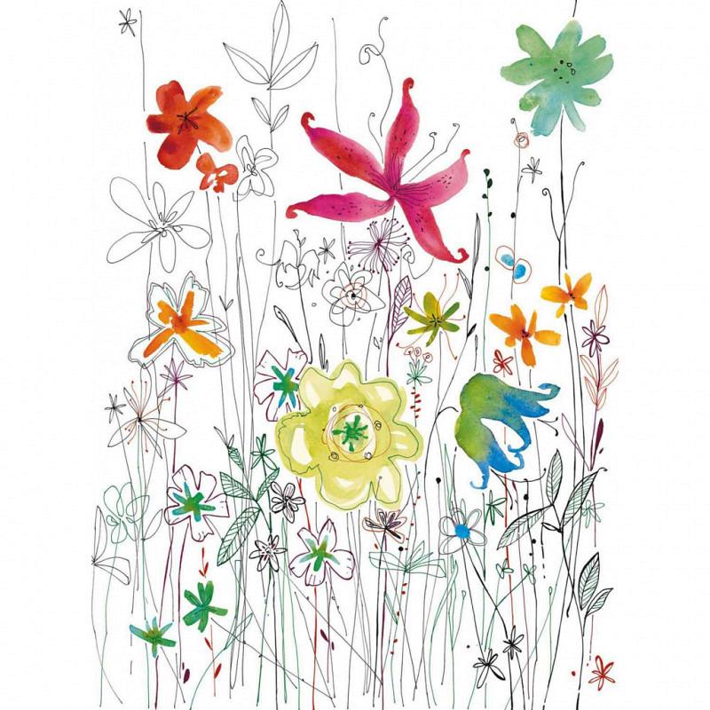 Vlies Fototapete Blüten Blumen Flora