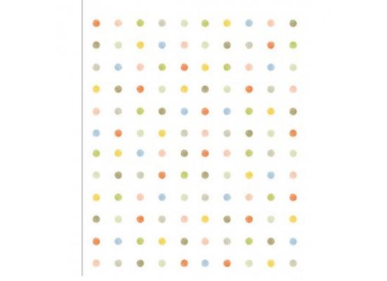 Selbstklebende Tapete Punkte : Tapete selbstklebend Polka Dot bunte Punkte-Design Muster