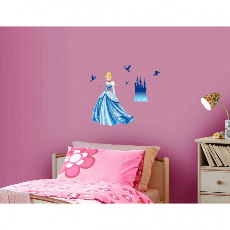 Wandsticker Disney Princess Cinderella