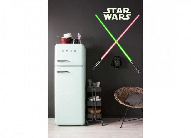 Wandsticker Star Wars Lichtschwert