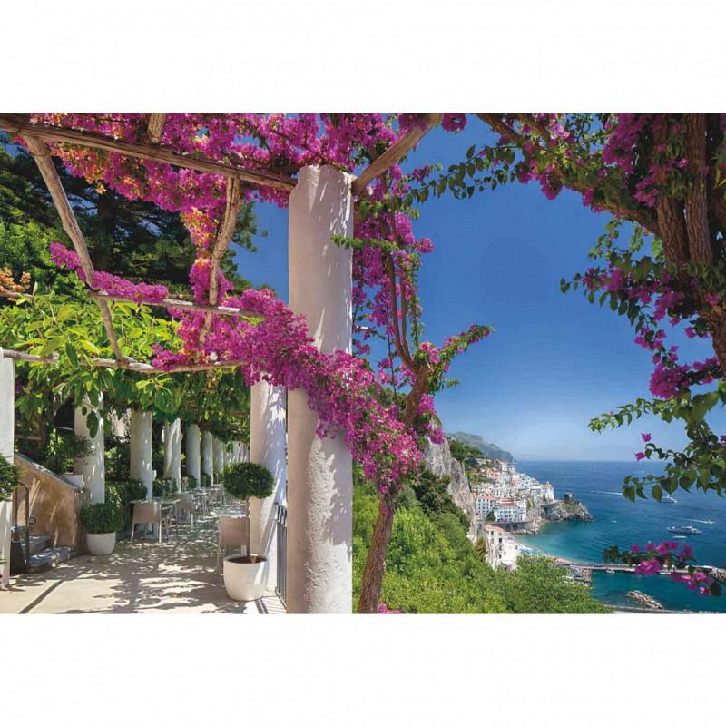 Fototapete Steilküste Amalfi Italien