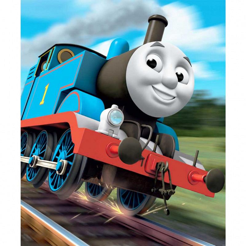 Fototapete Kinderzimmer Lokomotive Thomas
