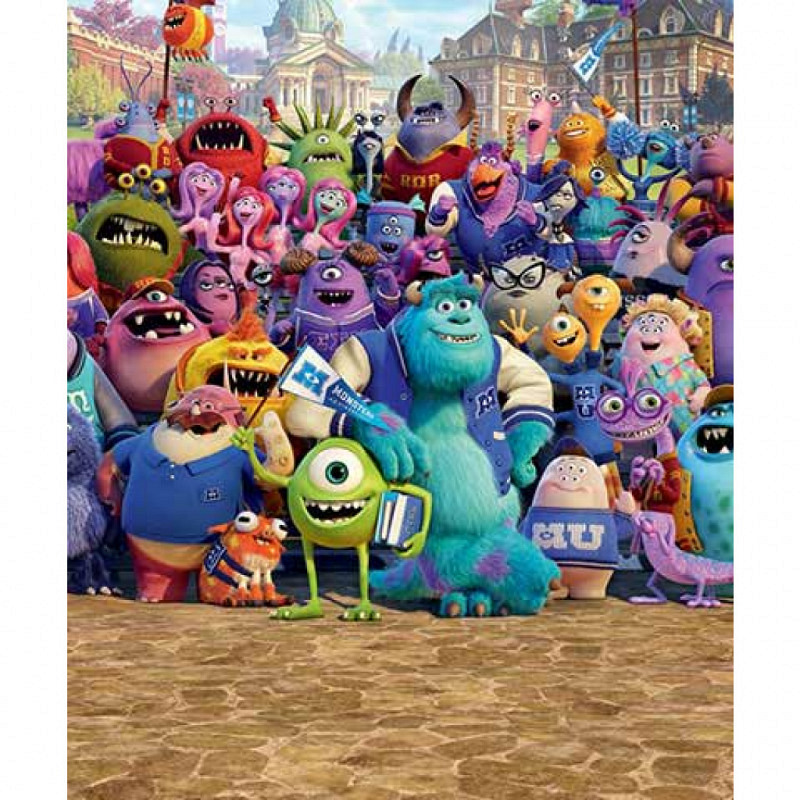 Fototapete Kinderzimmer Disney Monster University