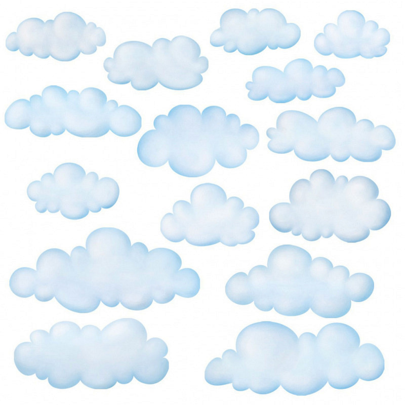 Wandsticker Wolken Himmel