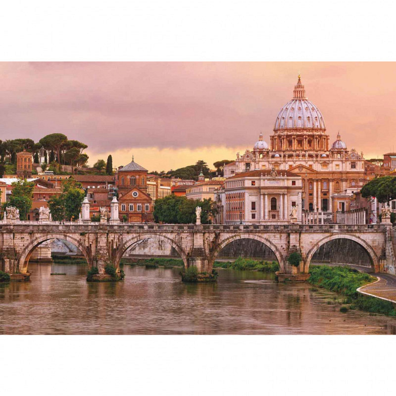 Fototapete Rom Tiberbrücke