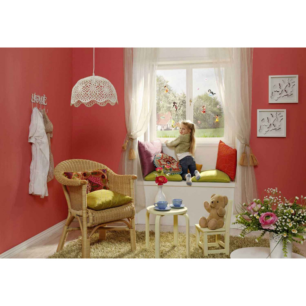 Fensterbild Disney Fairies Tinkerbell Kinderzimmer