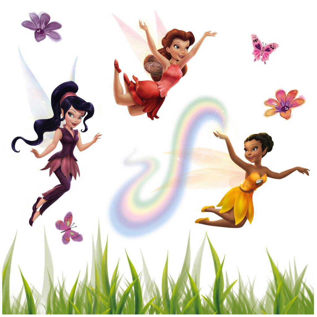 Fensterbild Disney Fairies Tinkerbell