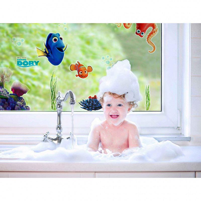 Fensterbild Finding Dory Nemo