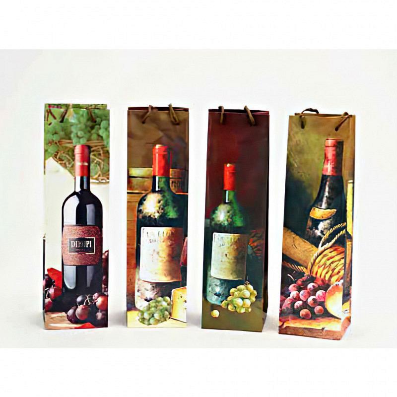 Weintüte Flaschentüte verschiedene Designs