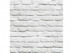 Tapete weiße Steinmauer Dachboden
