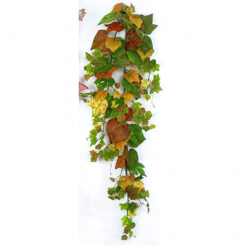 Weinlaubhänger in frischen Herbstfarben