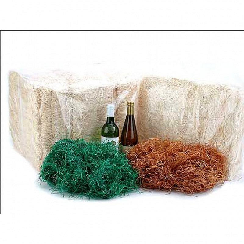 Holzwolle grün 2,5kg