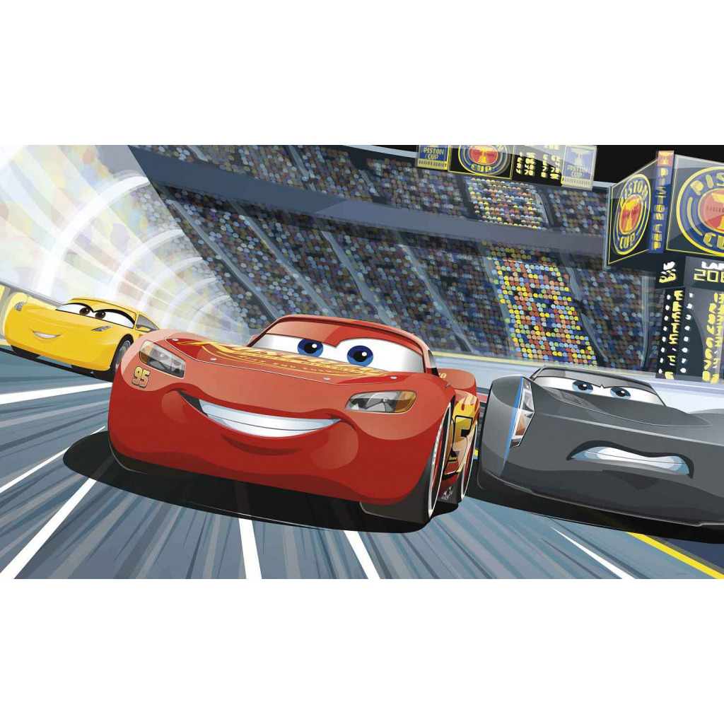 RoomMates Fototapete Disney Pixar Cars oberes Panel