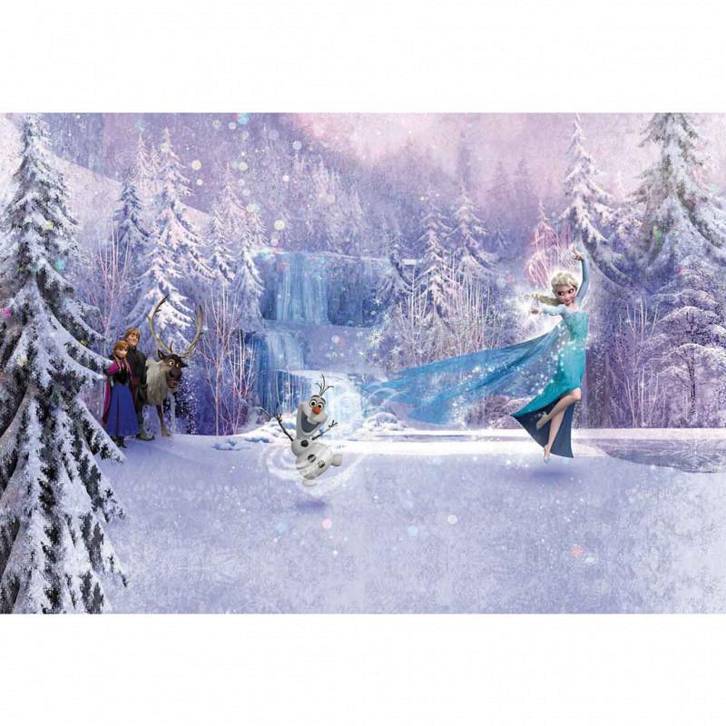 Fototapete Disney Frozen Schneemann Olaf gefrostet