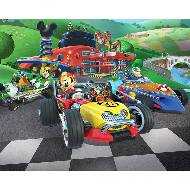 Fototapete Mickey Mouse Roadster Racer