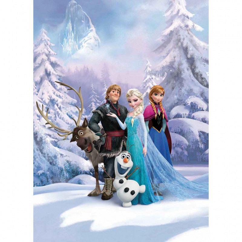 Fototapete Disney Frozen Winterland