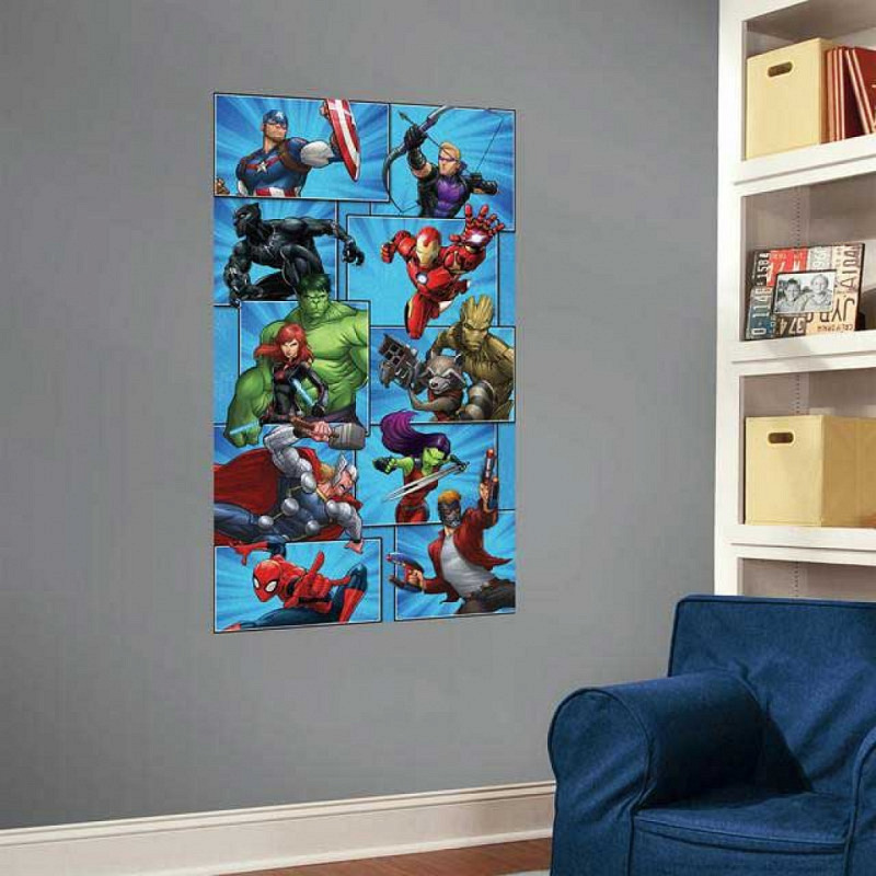 RoomMates Fototapete Marvel Superhelden Wandbild