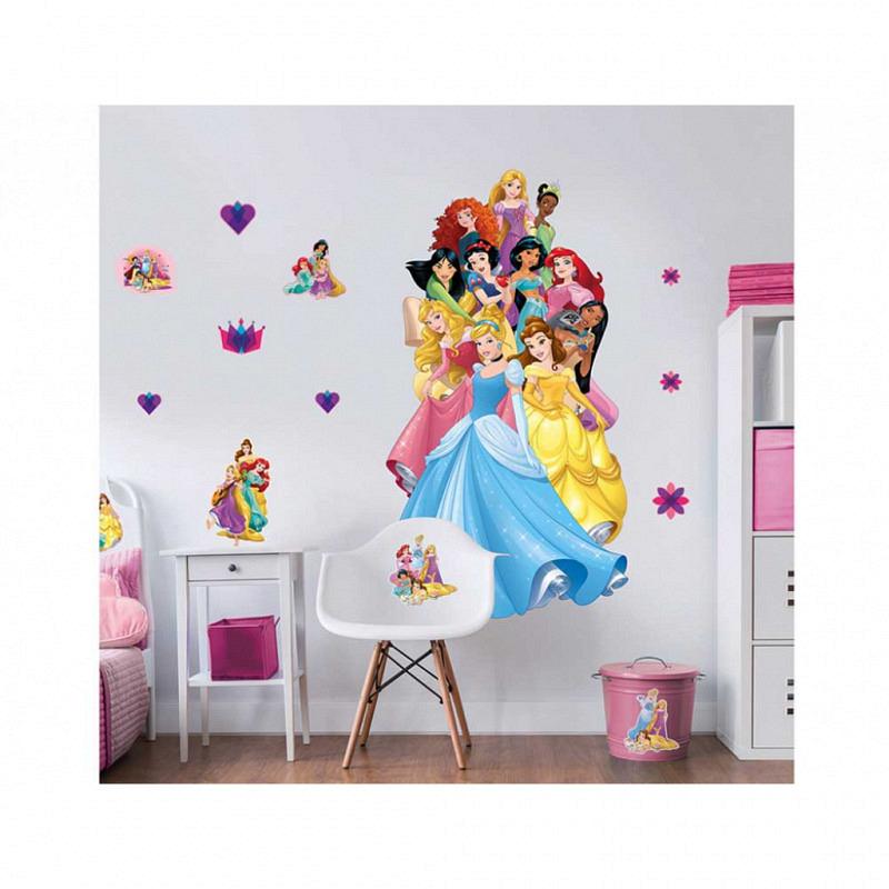 Wandsticker Disney Princess XXL Dekopaket