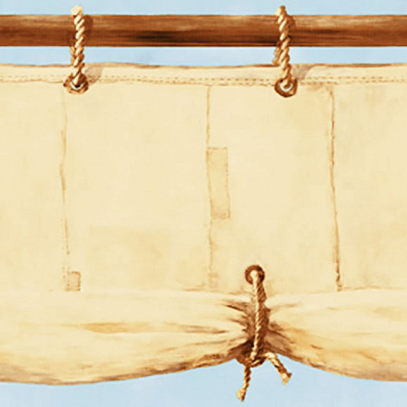 Piraten Tapeten Borte Bordüre Segeltuch