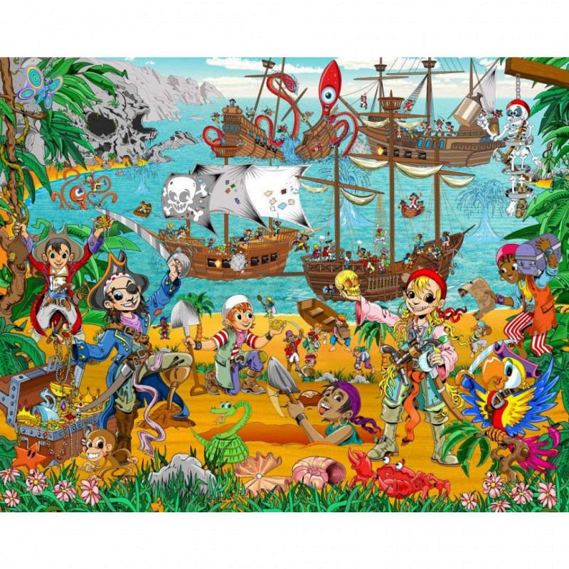 Fototapete Piraten Kinderzimmer Pirate Adventure