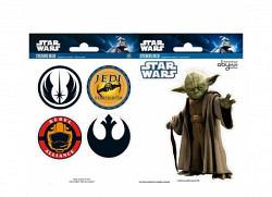 Wandsticker Star Wars Jedi Meister Yoda
