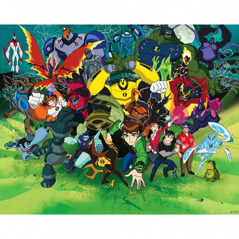Fototapete Kinderzimmer Ben 10 Ultimate Alien
