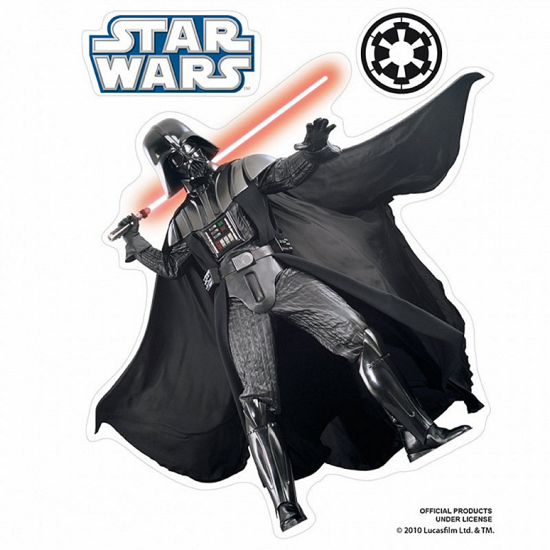 Wandsticker Star Wars Sith Lord Darth Vader