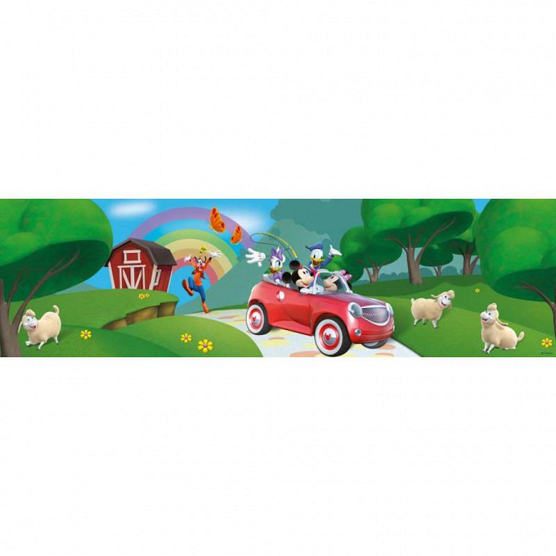 Bordüre Disney Mickey Mouse Auto Schafe