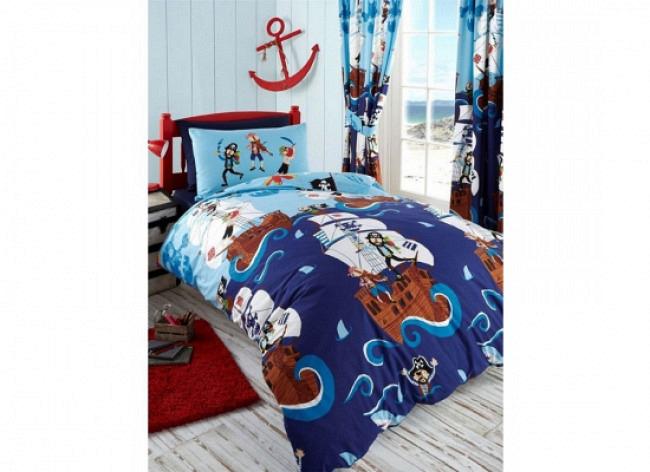 Bettwäsche Piraten auf See