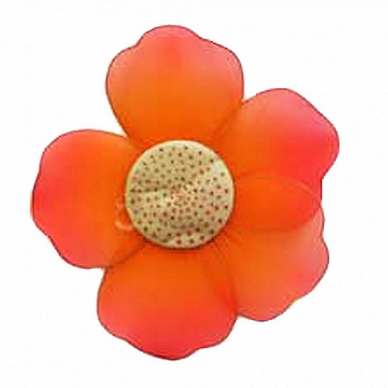 Blüten Blumen 4er Set 20cm orange