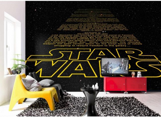 Fototapete Star Wars Schrift