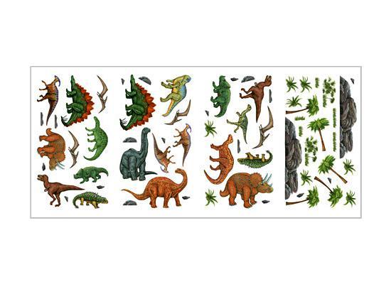 Wandtattoo wandsticker kinderzimmer dinosaurier dino - Wandtattoo dinosaurier ...