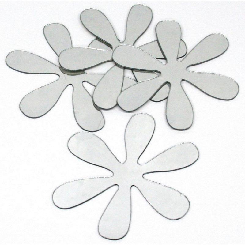 RoomMates Wandsticker Retro Flowers 4er-Set