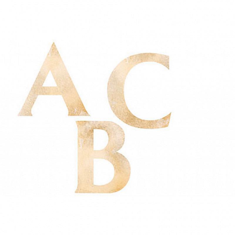 Wandsticker Wallies ABC Alphabet