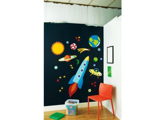 Kinderzimmer deko planeten for Weltraum deko kinderzimmer
