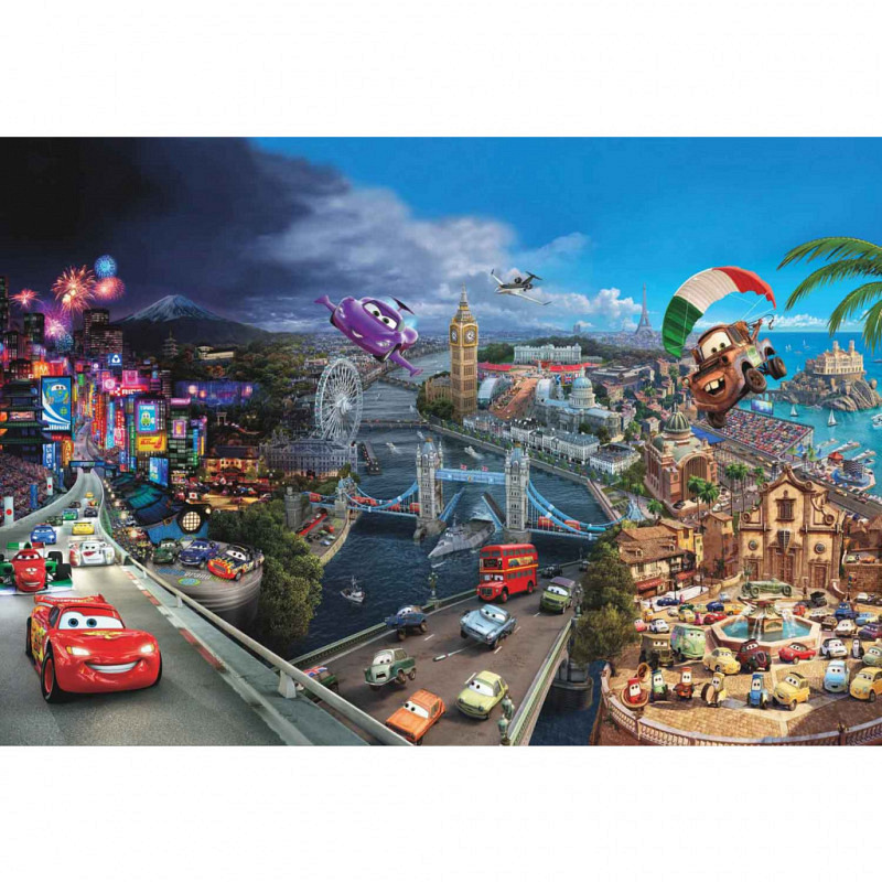 Fototapete Disney Cars Collage
