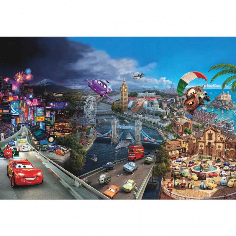 Fototapete Disney Cars Collage