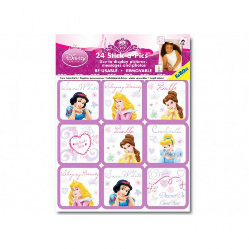 Fotoecken Sticker Disney Princess