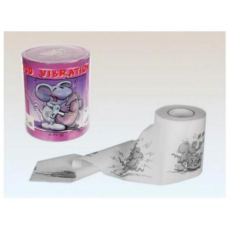 Geschenk-Toilettenpapier GOOD VIBRATIONS