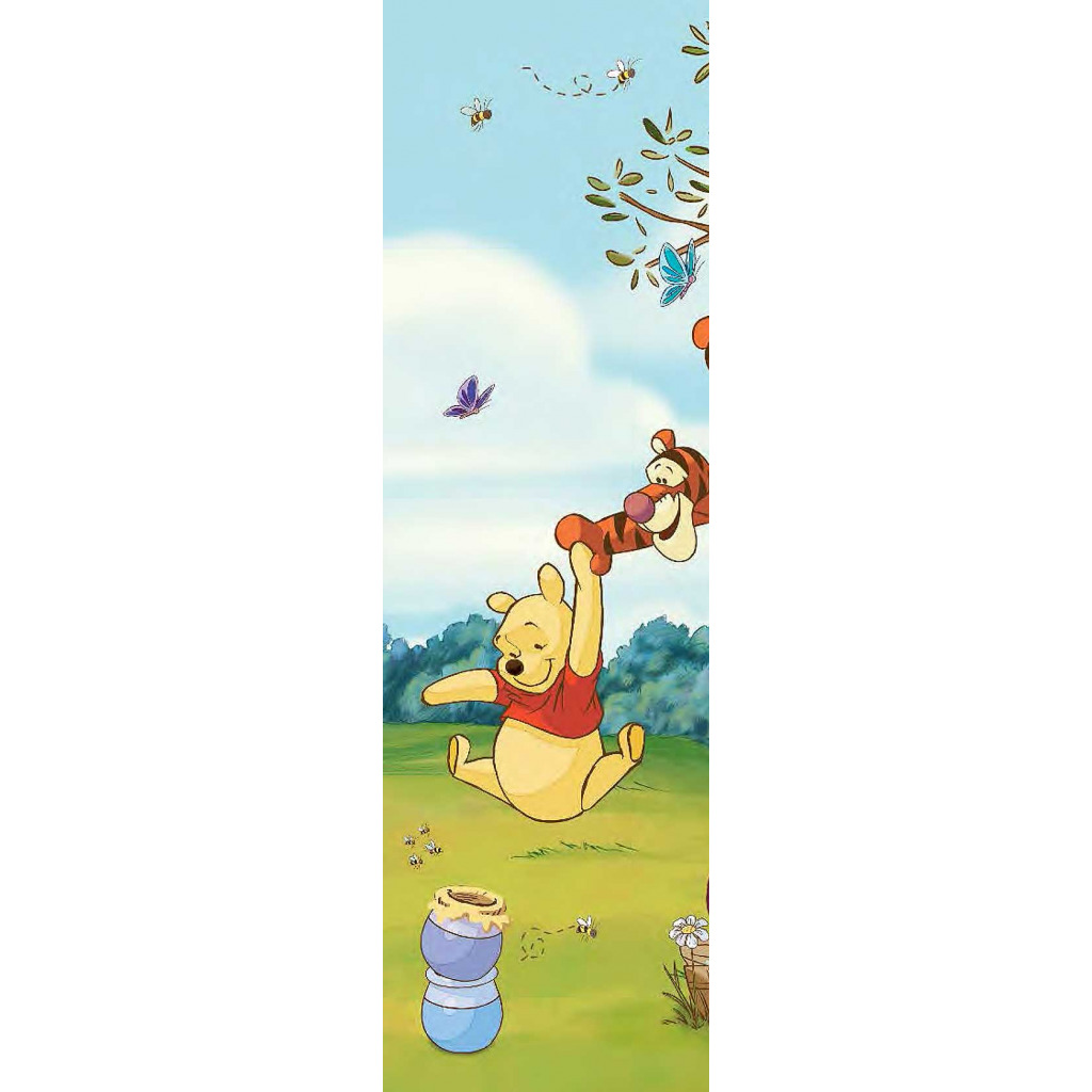 roommates fototapete winnie the pooh wandbild babyzimmer. Black Bedroom Furniture Sets. Home Design Ideas