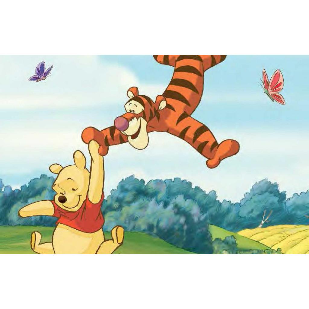 Roommates fototapete winnie the pooh wandbild babyzimmer - Winnie pooh babyzimmer ...