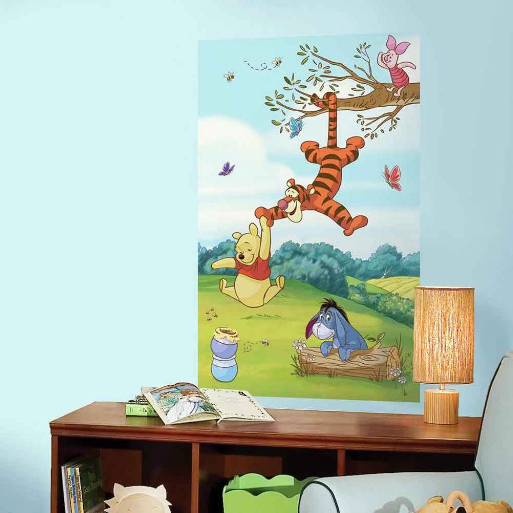 RoomMates Fototapete Winnie The Pooh Wandbild-Winnie The Pooh