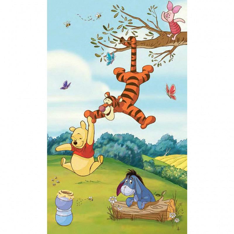 RoomMates Fototapete Winnie the Pooh Wandbild