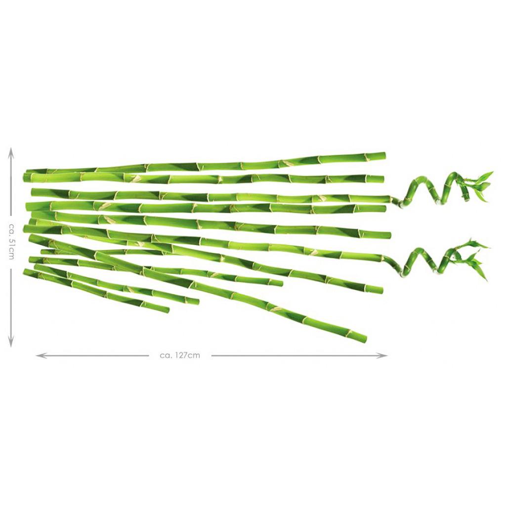 RoomMates Wandsticker Bambus Maße
