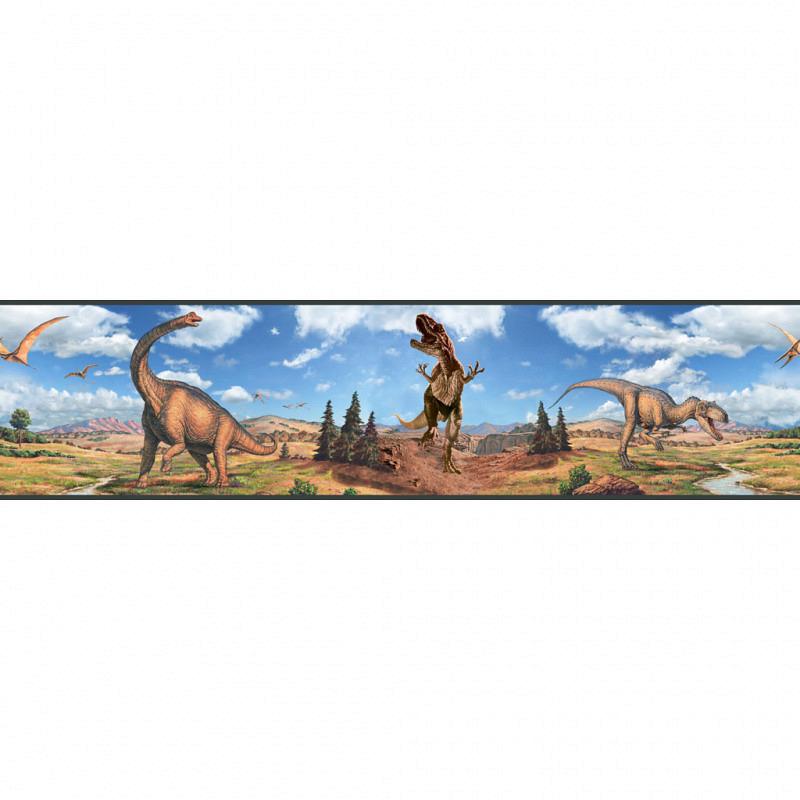 RoomMates Bordüre Dinosaurier selbstklebend