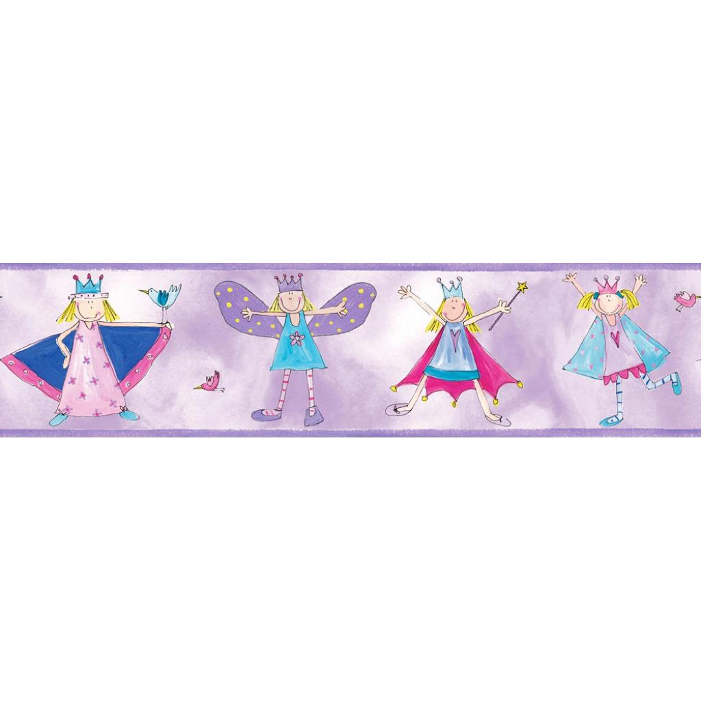 Kinderzimmer Tapeten Prinzessin : Tapeten Bord?ren kleine Prinzessin verleihen dem Girlie Kinderzimmer
